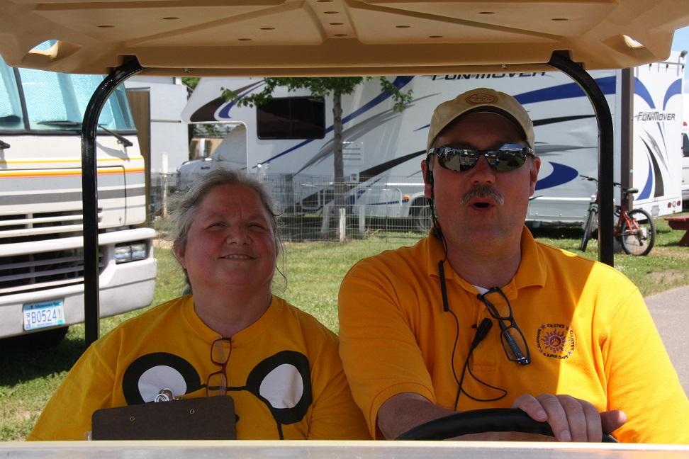 Chief Ring Steward Steve & Trainee Annie